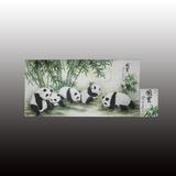 滕黛梦国宝熊猫图